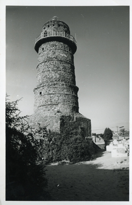 Minaret of the Mosque of Abd al-Aziz (Photo: N. Chittick, Courtesy of BIEA)
